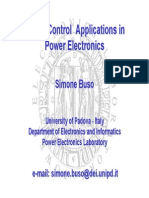Digital Control Applications in Power Electronics Lesson1