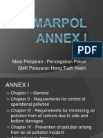 MARPOL ANNEX I CHAPTER I