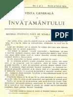 Revista generală a învăţământului, nr. 1-2, iunie-iulie 2014