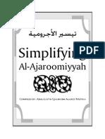 Ajroomiyyah Arabic w English Translation