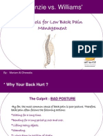 McKenzie_vs_Williams-Protocols for Low Back Pain Management