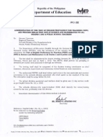 DepED Memorandum No.12 s.2012