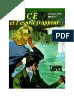 Caroline Quine Alice Roy 25 Alice Et l'Esprit Frappeur 1948