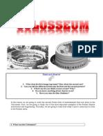 Colosseum Worksheet