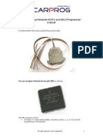 CARPROG Motorola HC12 Programmer Manual