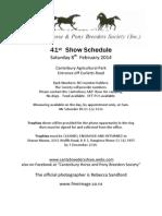 Catalogue Inhand Show February 8 2014 (second edition)