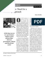 e Governance Yojana January 2013