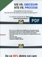 [Sliduri Webinar] Obiceiuri vs Obiective