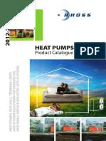 Rhoss Heat Pumps 2012 en Cat