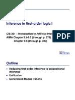First Order Logic (1)