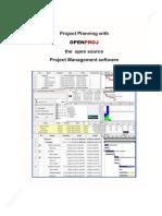 OpenProj Manual