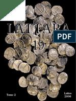 Les monnaies préaugustéennes de Lattes et la circulation monétaire protohistorique en Gaule méridionale. T. 2 / Michel Py