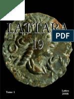 Les monnaies préaugustéennes de Lattes et la circulation monétaire protohistorique en Gaule méridionale. T. 1 / Michel Py
