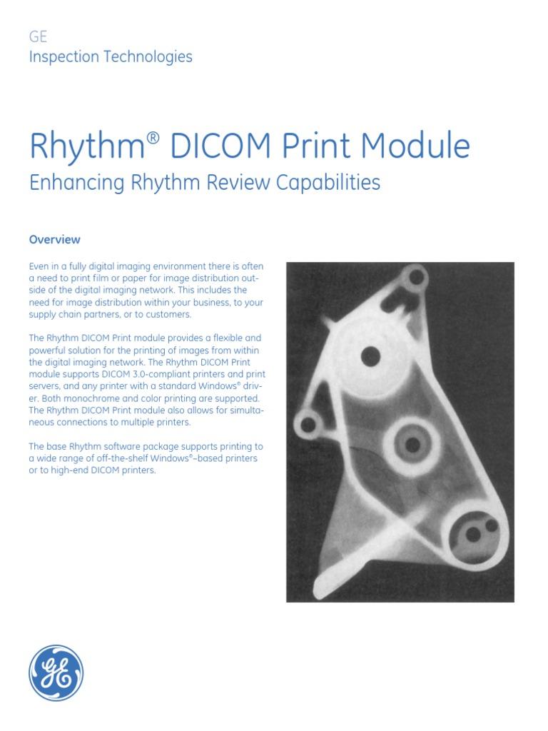 Rhythm DICOM Print Module: Enhancing Rhythm Review Capabilities