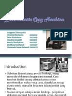 Electrostatic Copy Machine