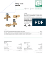 Caleffi Autofeed Backflow Valve Combination Brochure