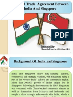 India and Singapore Trade Ralation