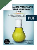 Manual Prep Exames BiologiaGeologia 10º-11º ano - 2013 1