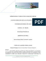 Sober Credito+Rural+e+Agricultura+Familiar+No+Brasil