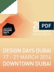 Design Days Dubai 2014 Gallery Highlights