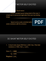 Enercon Shunt Motor Self Excited