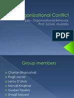Organisational Confl