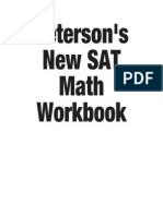 Sat Math Workbook Print