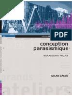1. Conception Parasismique. Niveau Avant-Projet, Milan ZACEK