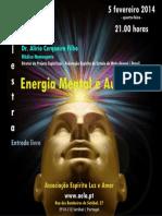 Energia Mental e Autocura - palestra