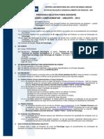 Edital Docente 17.2012 Psicologia