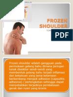 Frozen Shoulder Tommy