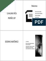 Traçado cefalométrico-analise USP