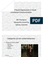 Thompson_The Role of Facial Expressions in Vocal Emotional Communication