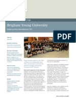 Siemens PLM Brigham Young University Cs Z4