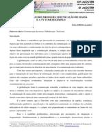 Texto leitura A GLOBALIZAÇÃO DOS MEIOS DE COMUNICAÇÃO DE MASSA E A TV COMO EXEMPLO.pdf