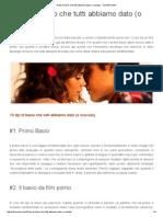 10 Tipi Di Bacio Che Tutti Abbiamo Dato (o Ricevuto) - OLTREUOMO