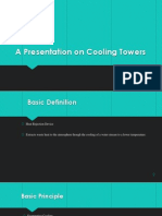 Presentation on Cooling Towers