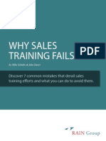 Why Sales Training