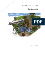 Garden Cafe Design Brief