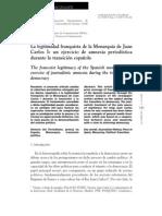 Zugasti, Ricardo - La legitimidad franquista de la Monarquía de Juan Carlos I (un ejercicio de amnesia periodística durante la transición española)