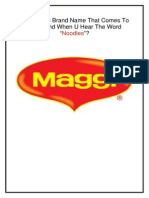 Maggi business plan