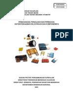 Pemasangan, Pengujian Dan Perbaikan Sistem Pengaman Kelistrikan Dan Komponennya