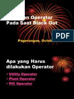 Tindakan Operator