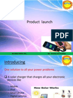 Welcome to the Product Launch