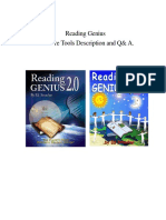 Reading Genius Software User Guide 3-10-06