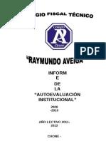 Autoevaluacion Col. Reymundo