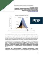 O pico dos combustíveis fósseis