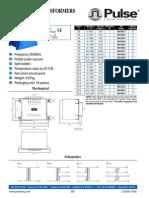 BV060-0201.0-dLAMINATED TRANSFORMERS Type EI60 / 25.5 - 25VA