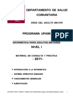 Nuevo Manual Windows Adulto Mayor Nivel 1