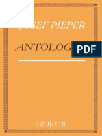PIEPER Josef Antologia